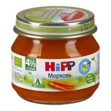Hipp Мое первое пюре Морковь, 4мес+, 80гр