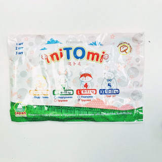 ПРОБНИК miTOmi Подгузники-трусики L (9-14 кг), 1 шт