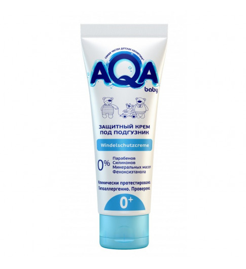 AQA baby Защитный крем под подгузник 75 мл