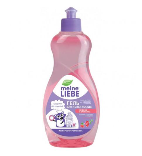 Meine Liebe Гель для мытья посуды Клюква и брусника , 500 мл - концентрат Мейн Либе
