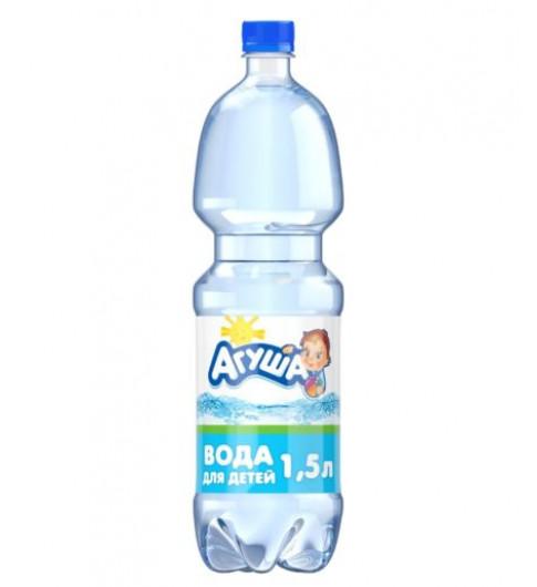 Агуша Детская вода 1,5 литров, 0мес+ — не требует кипячении
