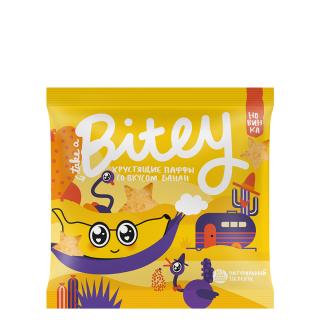 Bitey Паффы Банан — без сахара