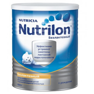 Nutrilon Безлактозный, 0мес+, 400гр Нутрилон