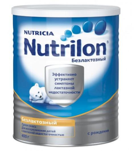 Nutrilon Безлактозный, 0мес+, 400гр