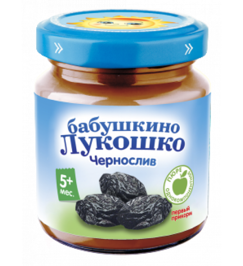 «Бабушкино Лукошко» чернослив, 100 г, 5мес+