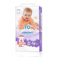 miTOmi Подгузники-трусики Comfort L (9-14 кг), 44 шт