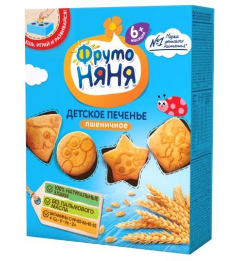 Фрутоняня Детское печенье «Пшеничное», 6мес+, 150гр