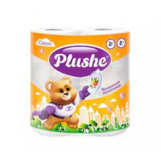 Plushe Classic Полотенце Бумажное , 2 рул 13,2 м, 2 слоя