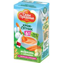 Сады Придонья Крем-супчик Морковь с овощами, 6мес+, 125 гр - тетрапак