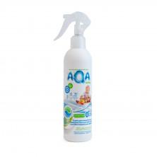 AQA baby Антибактериальный спрей для очищения всех поверхностей, 300 мл