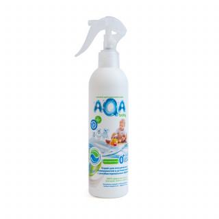 AQA baby Антибактериальный спрей для очищения всех поверхностей, 300 мл Аква Беби