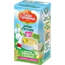 Сады Придонья Крем-супчик Цветная капуста с овощами, 6мес+, 125 гр - тетрапак