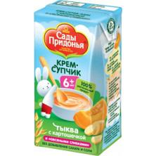 Сады Придонья Крем-супчик Тыква с картошечкой, 6мес+, 125 гр - тетрапак