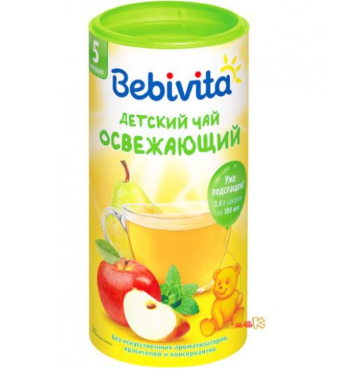 Bebivita Чай гранулированный «Освежающий», 5мес+, 200гр Бебивита