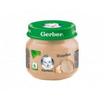 Пюре Gerber индейка, 6мес+, 80 гр  - без рисовой муки