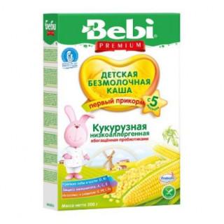 Bebi Каша кукурузная безмолочная, 5мес+, 200 гр