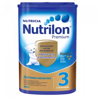 Nutrilon Premium 3 детское молочко, 12мес+, 800гр Нутрилон