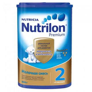 Nutrilon Premium 2 сухая молочная смесь, 6-12мес, 800гр Нутрилон