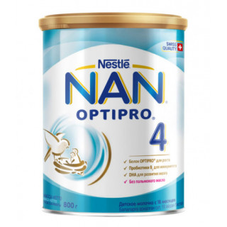 NAN 4 Сухая молочная смесь, 18мес+, 800 гр