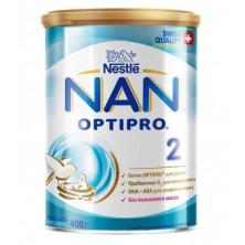 NAN 2 Сухая молочная смесь, 6мес+, 800 гр