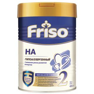 Frisolac 2 Гипоаллергенная молочная смесь, 6-12мес+, 400гр