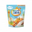 ФрутоНяня Каша молочная рисовая с тыквой и абрикосами, 5мес+, 200 гр