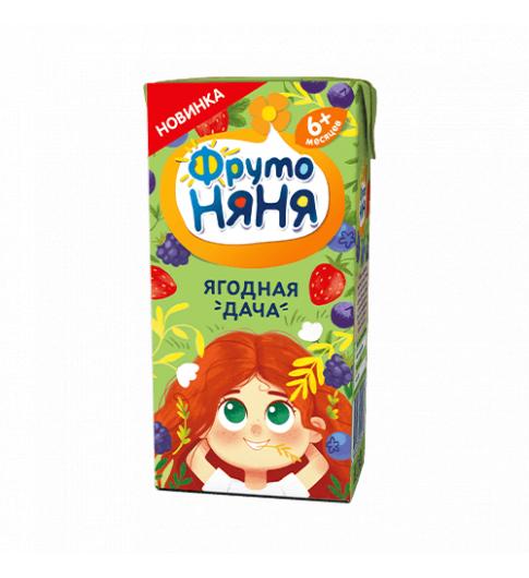 Фрутоняня Нектар из ягод и шиповника «Ягодная дача», 200 мл