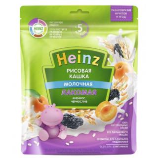 Heinz Каша Лакомая Рисовая абрикос, чернослив, 5мес+, 170гр