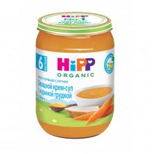 Hipp Крем-суп овощной с куриной грудкой, 6мес+, 190г Хипп