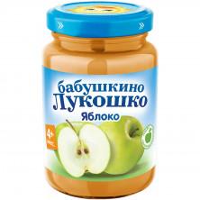 «Бабушкино Лукошко» Пюре Яблоко, 4мес+, 190гр,