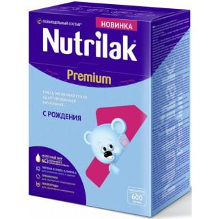 Nutrilak (Нутрилак) Премиум Молочная смесь 1, 0-6мес, 600гр
