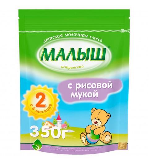 «Малыш Истринский» с рисовой мукой, 6мес+, 350 гр