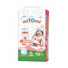 miTOmi Подгузники-трусики L (9-14 кг), 44 шт