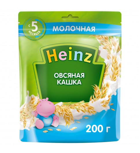 Heinz Каша Овсяная с молоком, 5мес+, 200гр хайнц