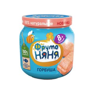 ФрутоНяня пюре Горбуша, 8мес+, 100гр