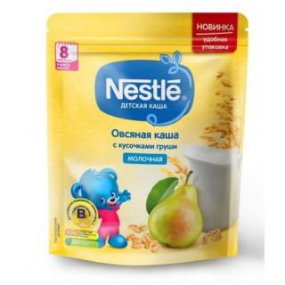 Nestle Каша Овсяная с кусочками груши, молочная, 220 гр, 8мес+
