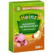 Heinz Каша Пшенично-овсяная с фруктами, безмолочная, 6мес+, 200 гр (Хайнц)
