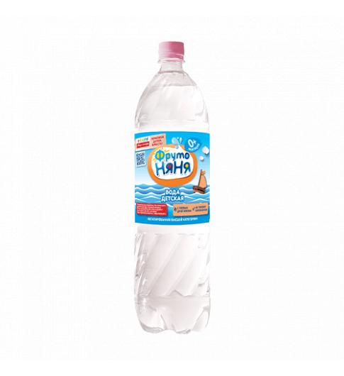 ФрутоНяня детская вода, 1,5 литра, 0мес+