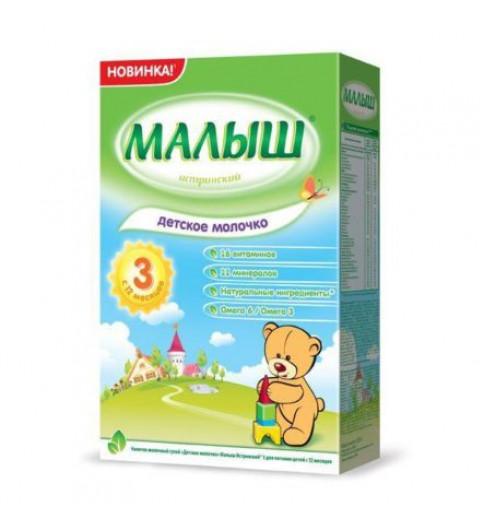 «Малыш Истринский 3» детское молочко, 12мес+, 350 гр