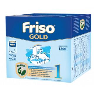 Friso Gold Молочная смесь 1, 0-6мес, 1200 гр Фрисо