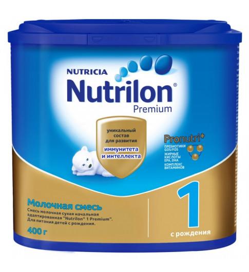 Nutrilon Premium 1 сухая молочная смесь, 0-6мес, 400гр Нутрилон