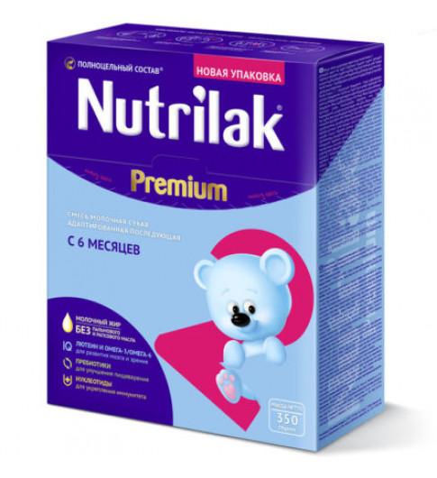 Nutrilak (Нутрилак) Премиум Молочная смесь 2, 6-12 мес, 350 гр