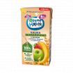 ФрутоНяня Кашка безмолочная 5 злаков яблоко-банан-клубника, 6мес+, 200 мл