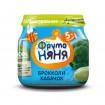 ФрутоНяня пюре брокколи-кабачок, 5мес+,  80 гр