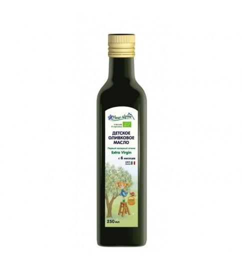 Флер Альпин (Fleur Alpine) Масло оливковое детское, 6мес+,  250 мл