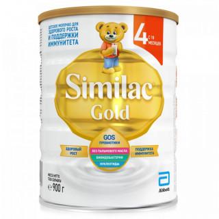 Similac Gold 4 Молочная смесь (молочко), 18мес+, 900 гр Симилак