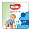 Huggies Подгузники-Трусики для мальчиков 4 (9-14 кг) 52 шт