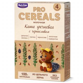 Nutrilak Premium Гречневая с Черносливом с молоком, Цельнозерновая, 4мес+, 200 гр БЕЗ САХАРА Нутрилак