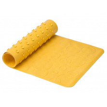 Roxy-Kids Антискользящий резиновый коврик для ванны 35x76 см - желтый