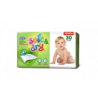 Helen Harper Детские впитывающие пеленки Soft Dry, 60*40 см, 30 шт